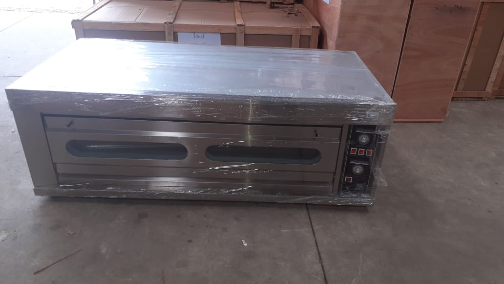 1 Deck 2 Tray Electric baking ovens