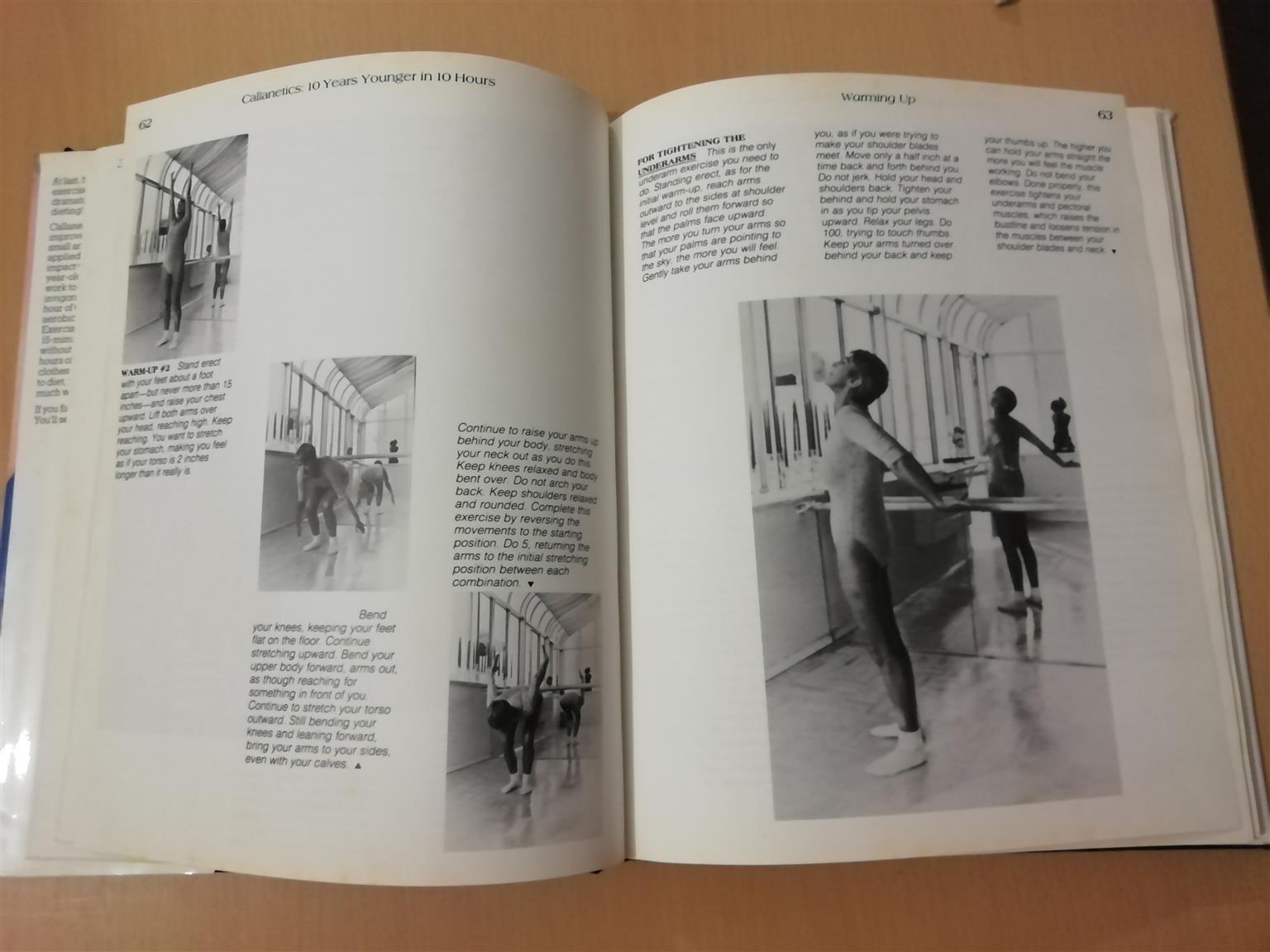 Callanetics by Callan Pinckney Hardcover Exercise Book