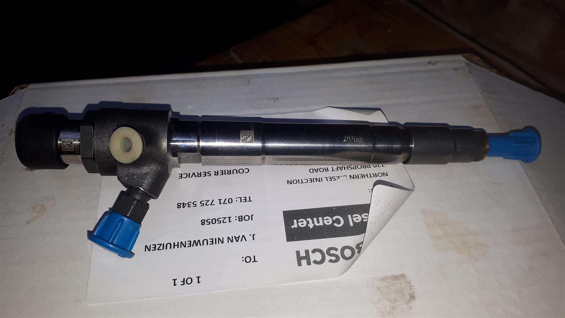 Bosch fuel injector, RH12, R4491, A7HHGH, AC259517051