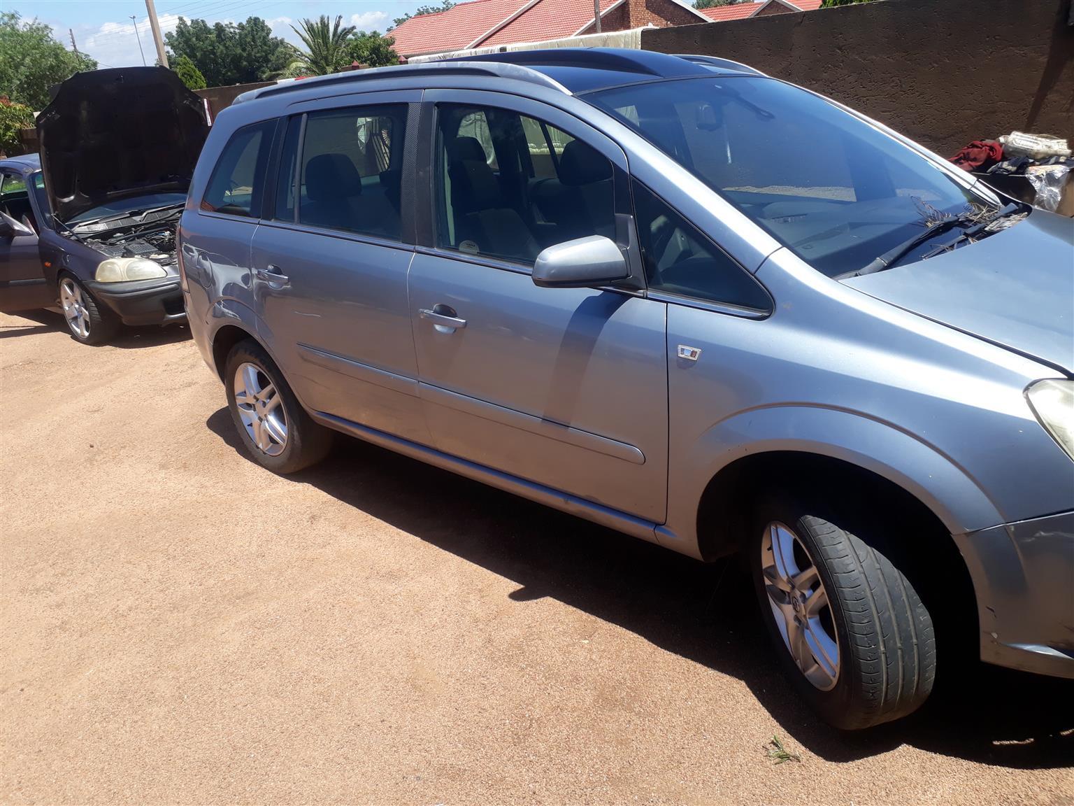 2007 Opel Zafira 1.8 Elegance