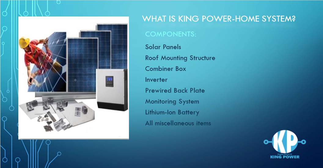 King Power Solar solutions