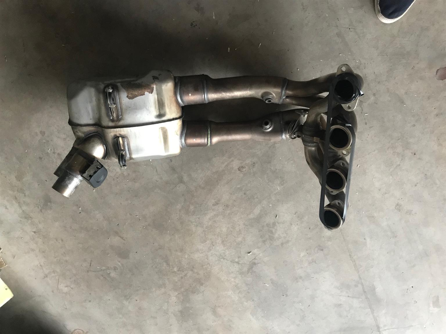 BMW S100rr (2017) Factory Complete Exhaust System