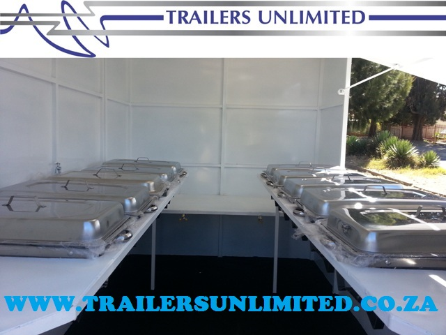 TRAILERS UNLIMITED. 2800 X 1800 X 2000 ECONOMIC CATERING TRAILERS. R32 000. EXCL.