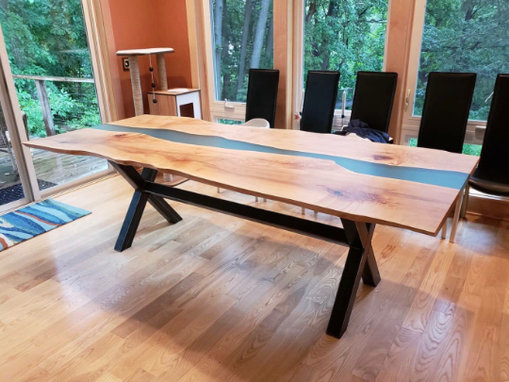 Beautiful River dining coffer table its available