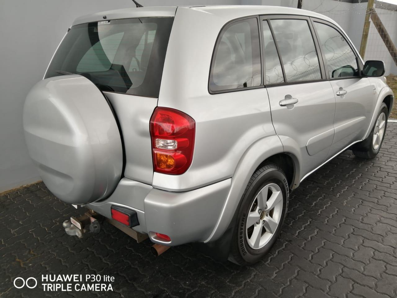 2005 Toyota Rav4 RAV4 180 5 door
