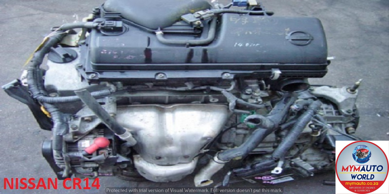 IMPORTED USED NISSAN MICRA 1.4L 16V CR14 ENGINE FOR SALE AT MYM AUTOWORLD