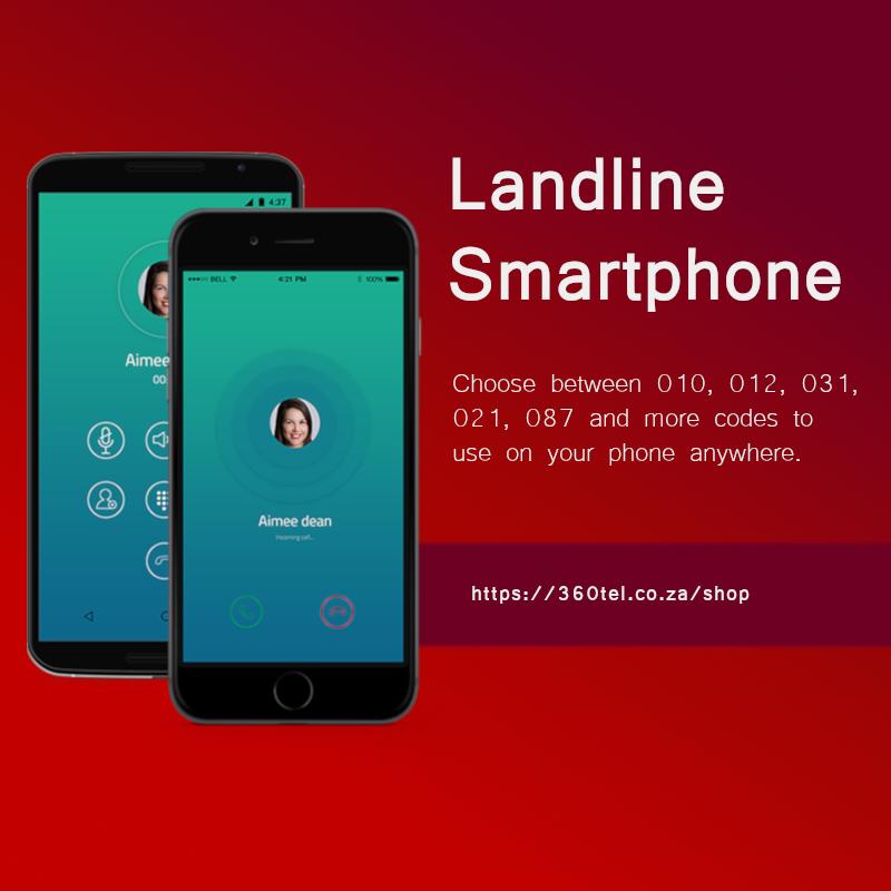 010 and 012 landline Smartphone.