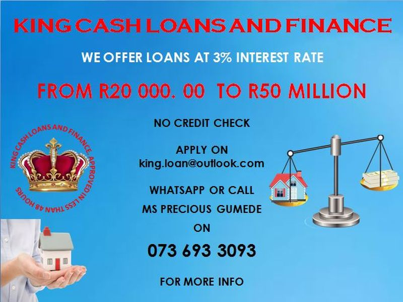 Find King Cash Loans & Finance's adverts listed on Junk Mail