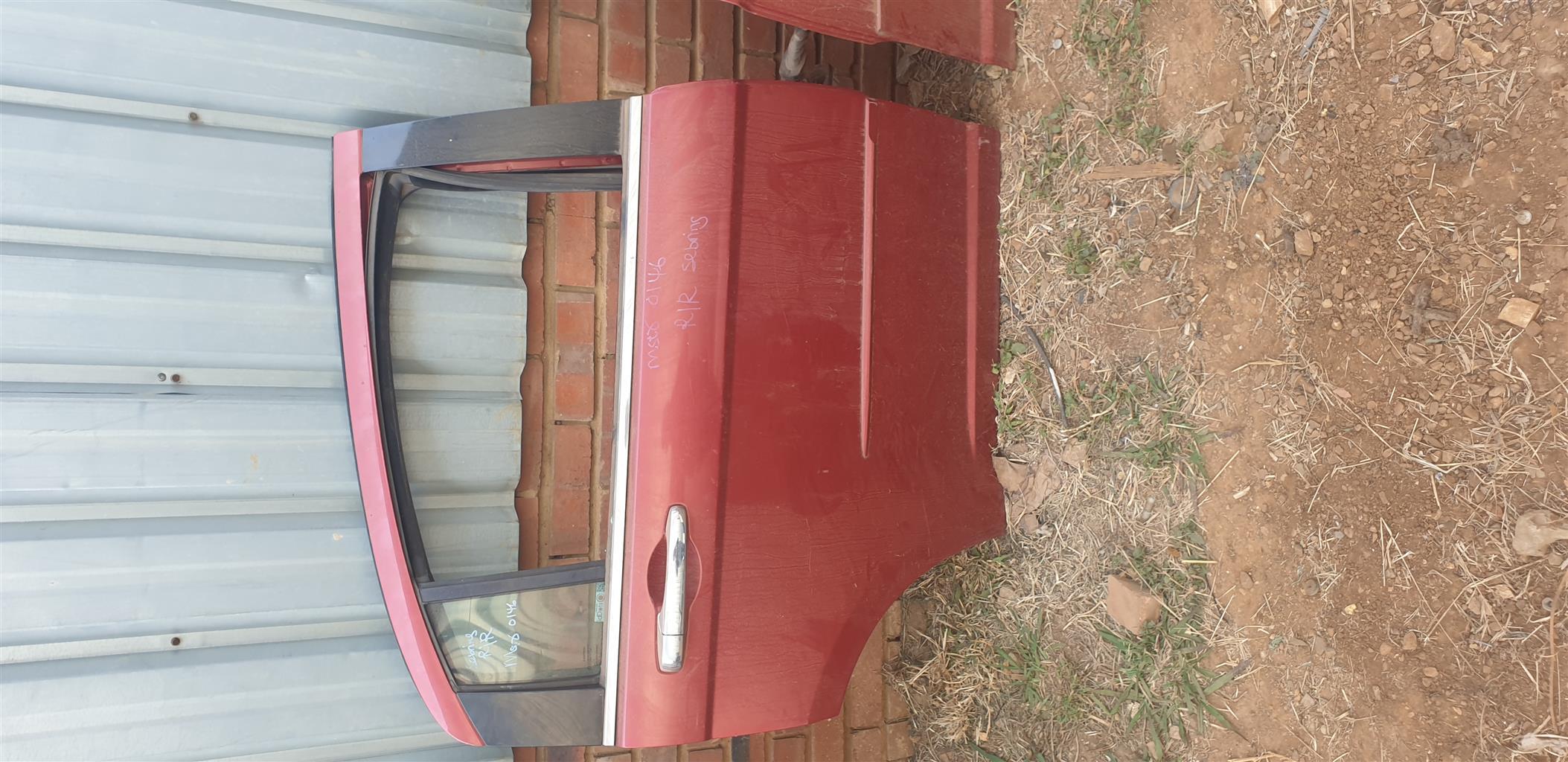 Chrysler Sebring Rear doors