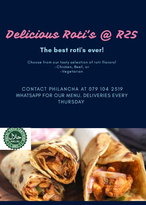 Delicious Roti's @ R25