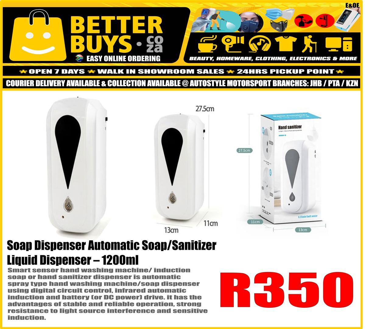 Soap Dispenser Automatic Soap/Sanitizer Liquid Dispenser – 1200ml R350