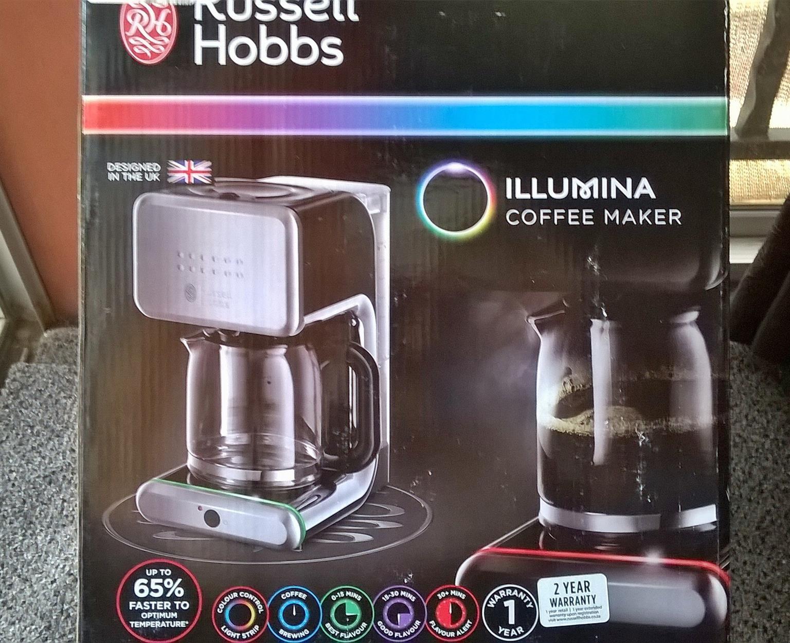 Russell Hobbs Illumina Coffee maker machine
