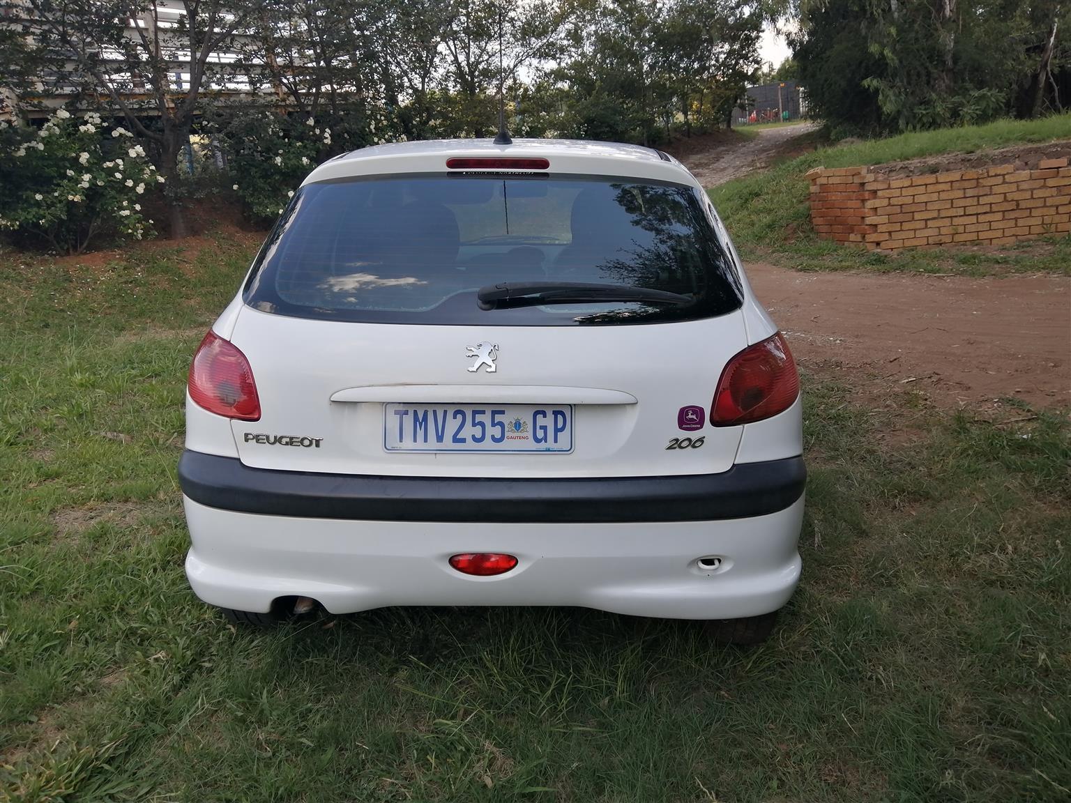 2006 Peugeot 206 1.4 16V X Line