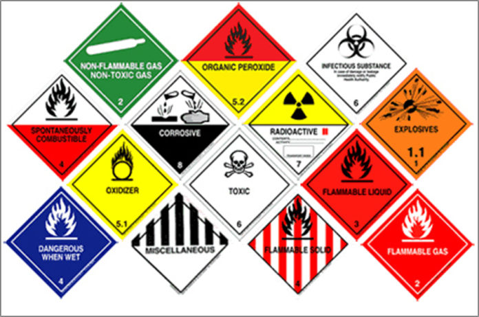 DANGEROUS GOODS TRAINING AT R1500 CALL DINTLE FOR BOOKING 0785830252