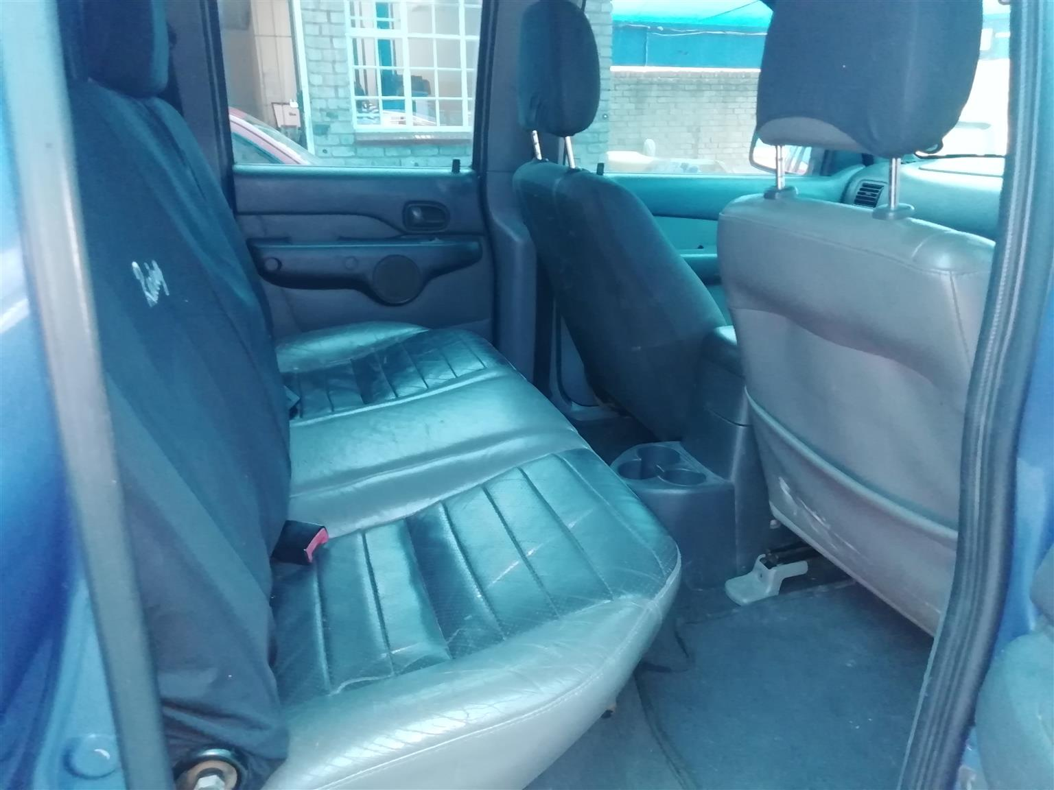 2005 Mazda Drifter B2500TD hi ride double cab SLE