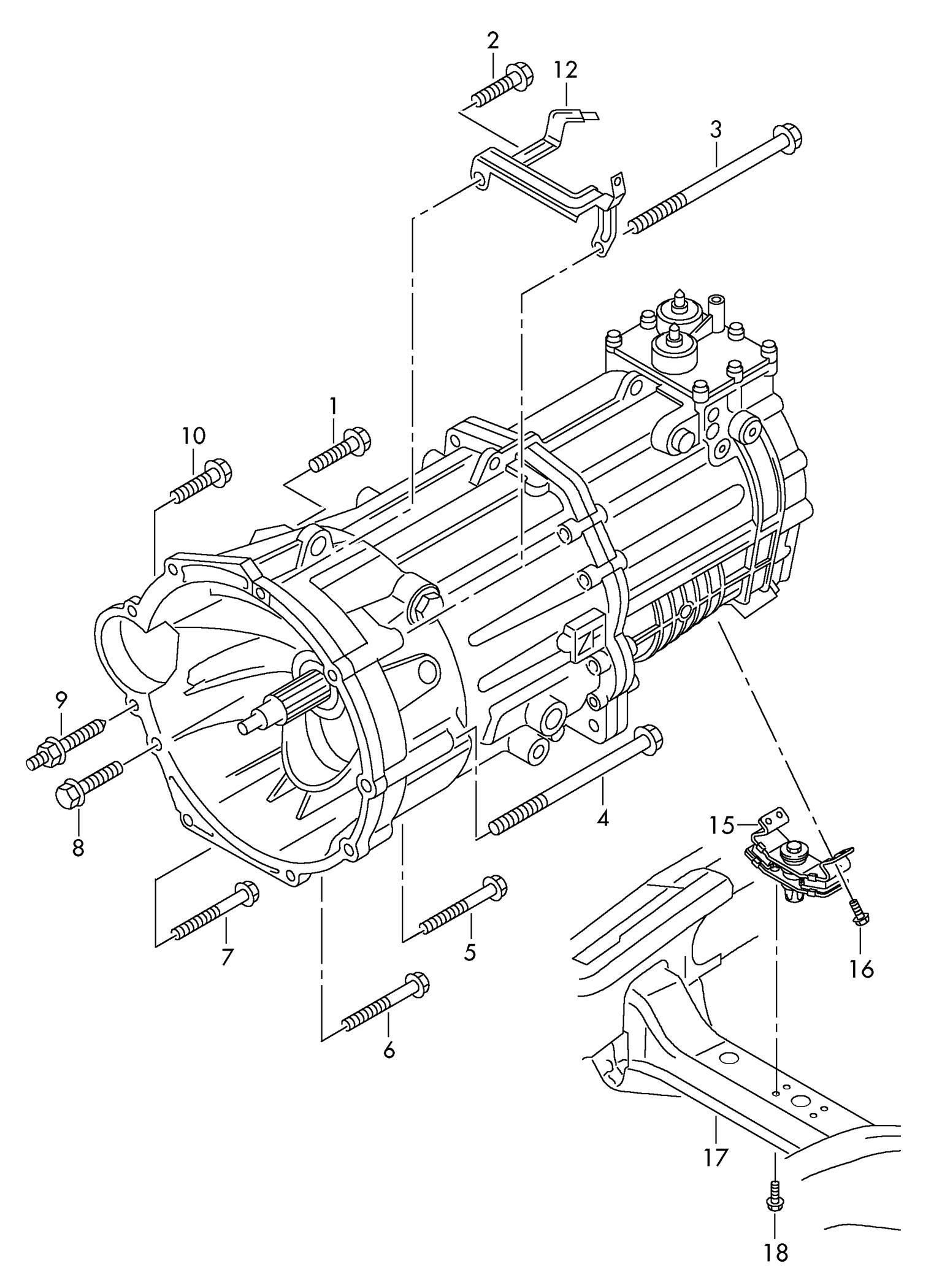 GEARBOX MOUNTING – VW AMAROK