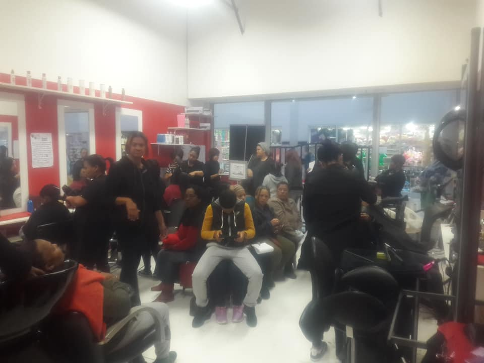 Busy salon for sale (9 Stylists) in mall