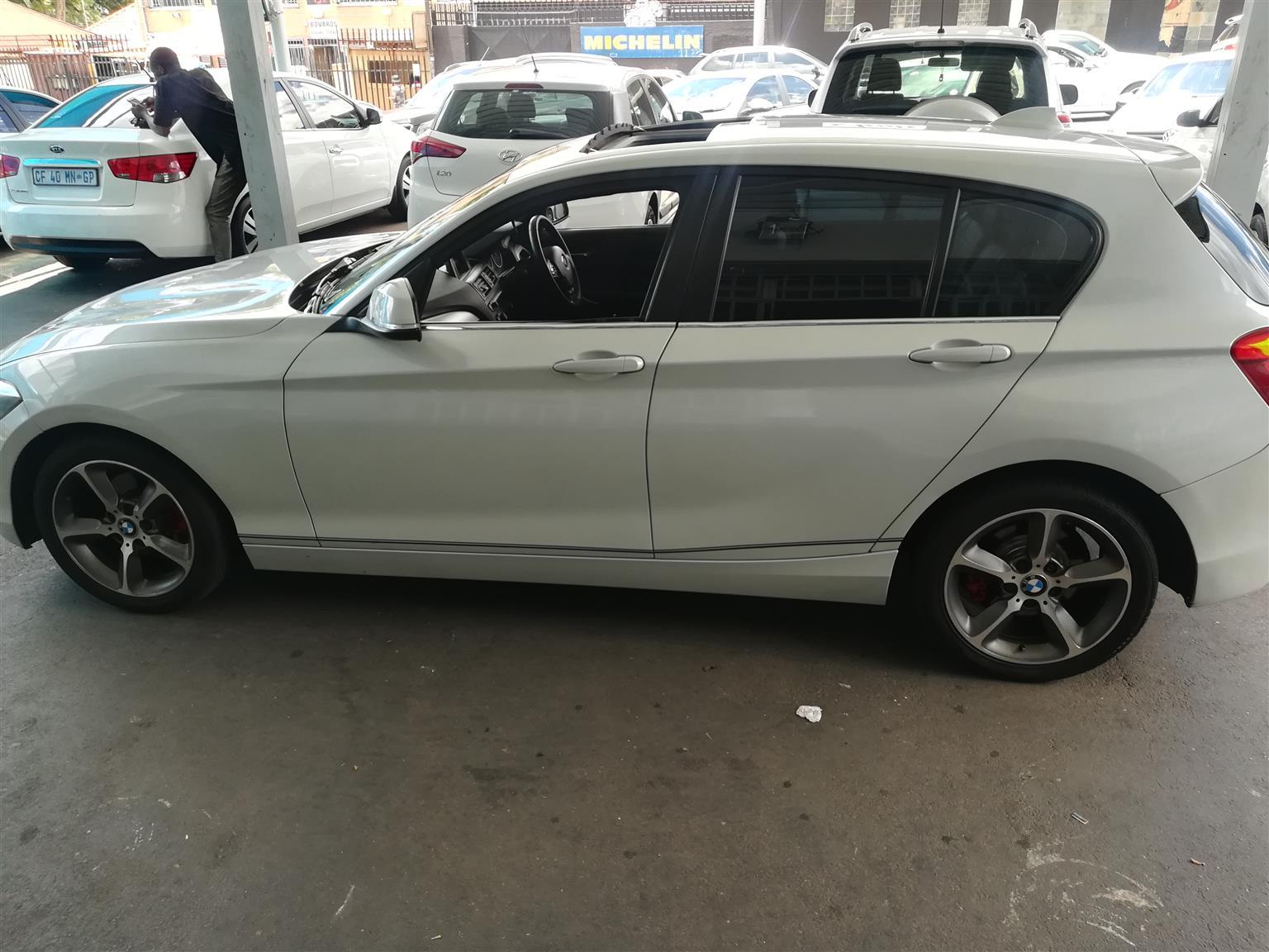 2014 BMW 1 Series 120d 5 door