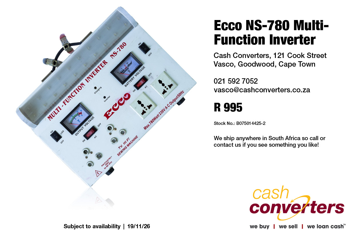 Ecco NS-780 Multi-Function Inverter