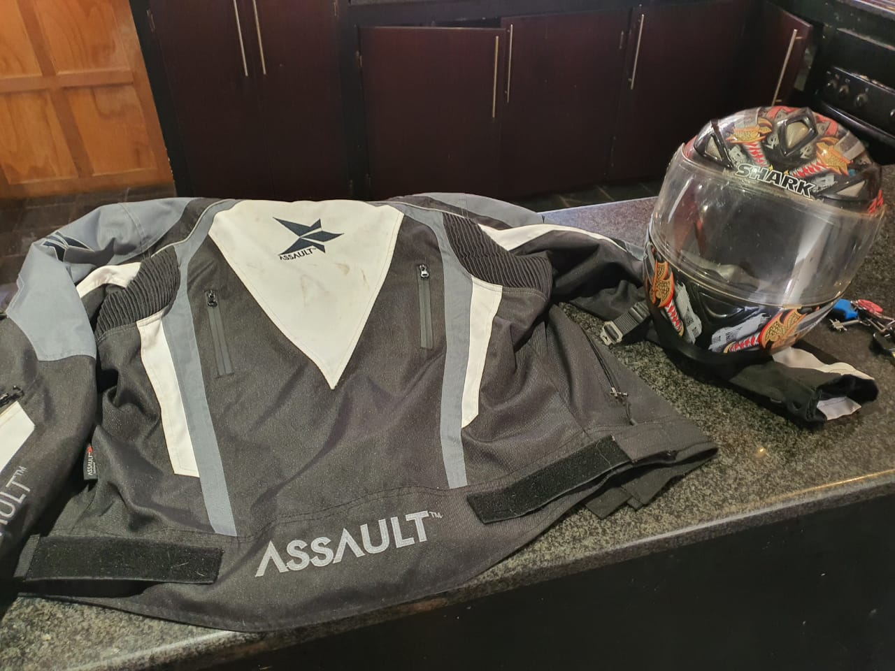 Assault bike jacket medium for sale