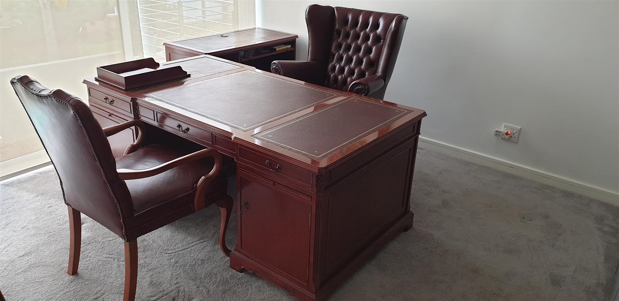 Bespoke home office desk