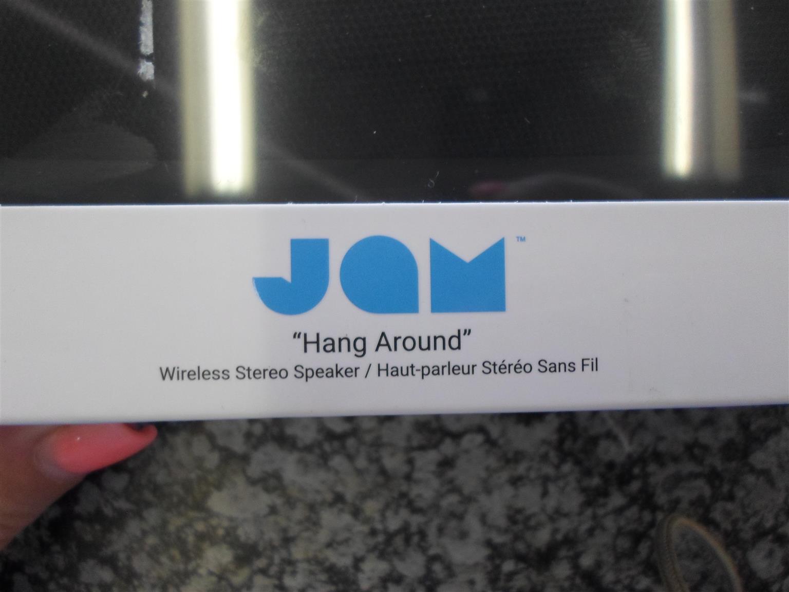 """JAM """"Hang Around"""" Wireless Stereo Speaker"""