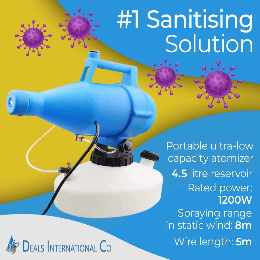 Portable Electric Virus Disinfection Sprayer