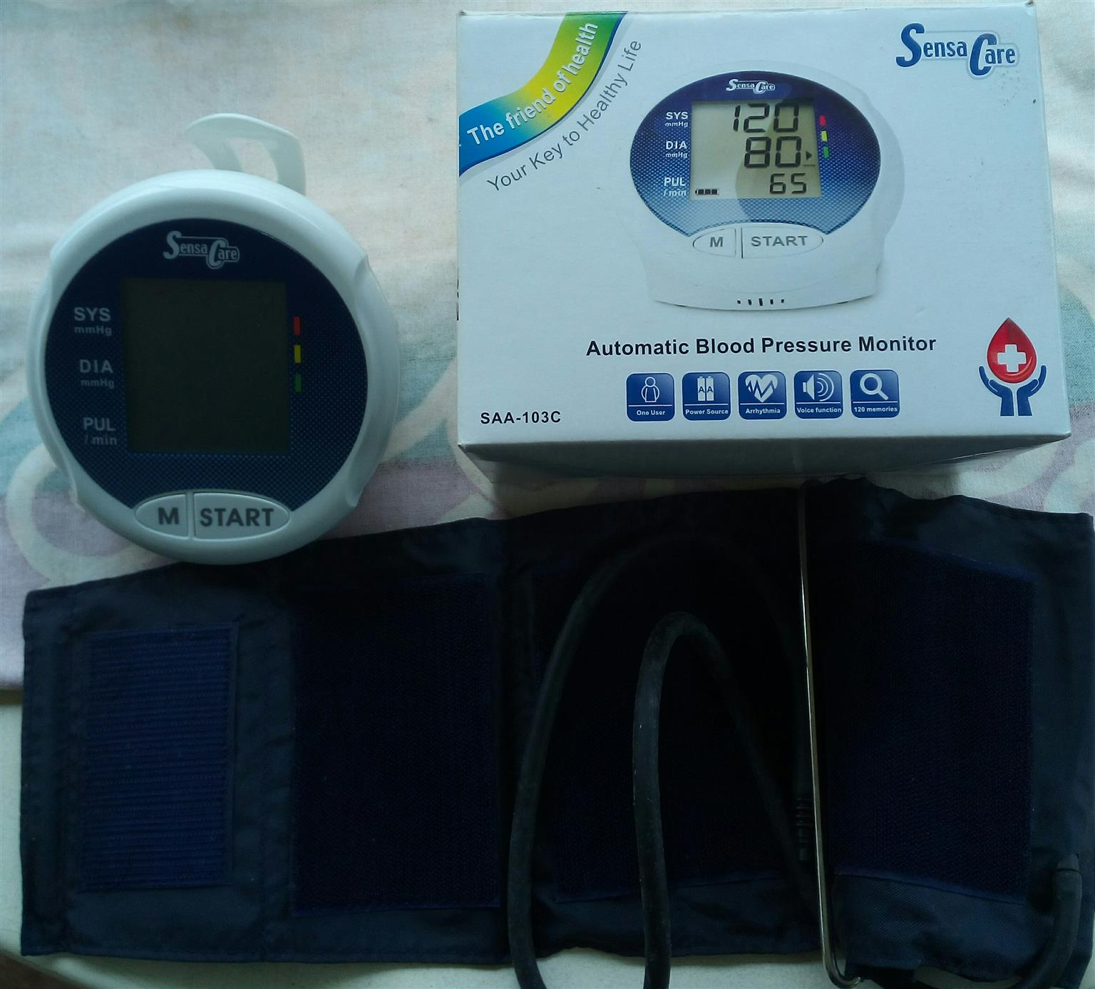AUTOMATED BLOOD PRESSURE MONITOR UNUSED- FOR SALE