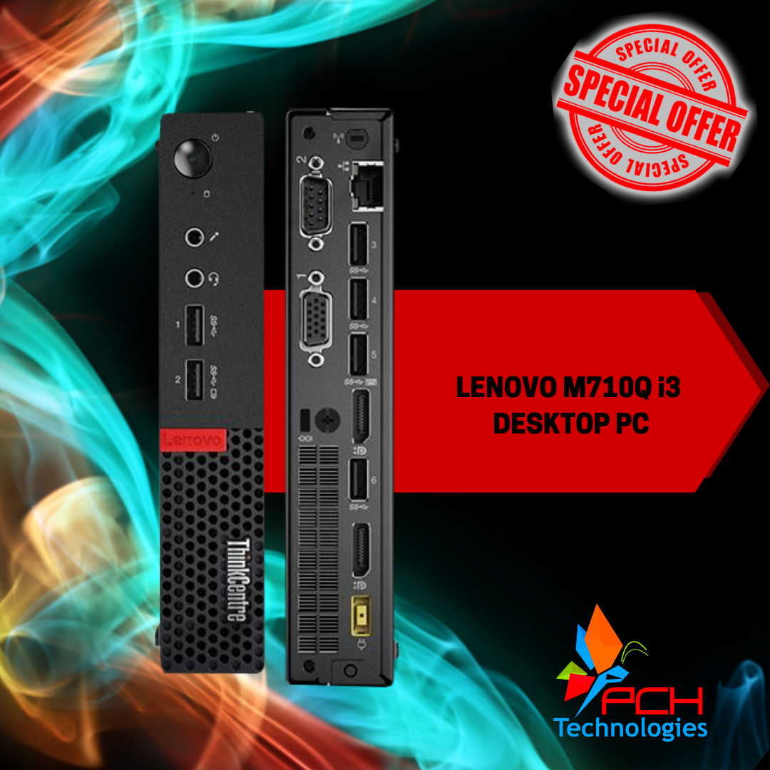 Lenovo ThinkCentre M710Q i3 Tiny (New out of Box Special) - R4950