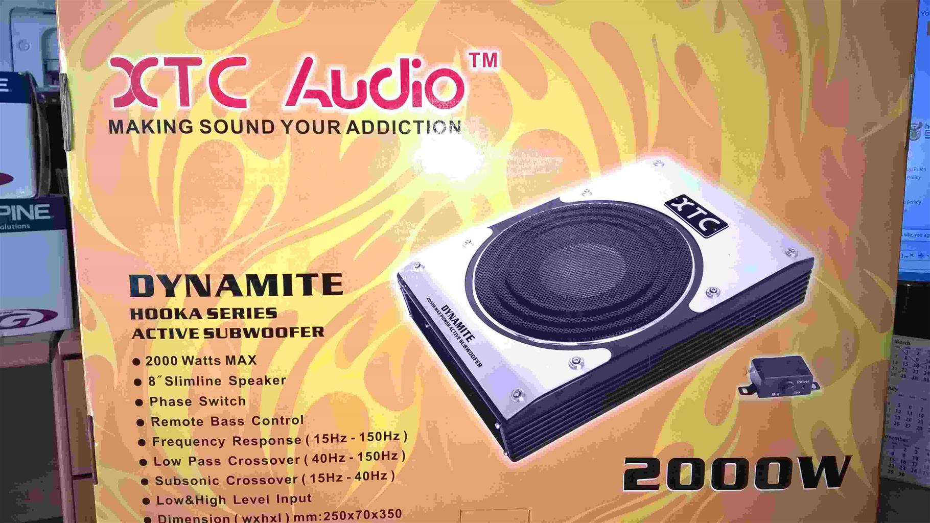 "XTC Audio Dynamite HookA series - Speakers 8"""
