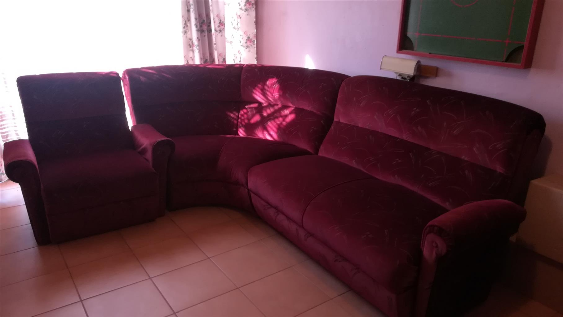 Eight Seater Corner Lounge Suite for Sale