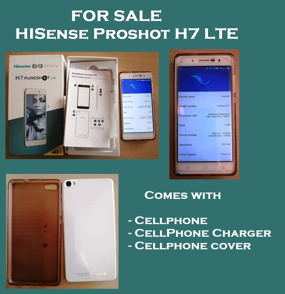 Hisense Proshot H7 For Sale
