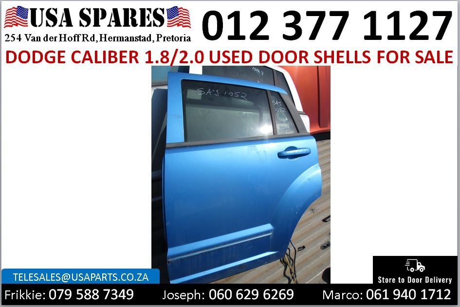 Dodge Caliber 2007-2013 used door shells for sale