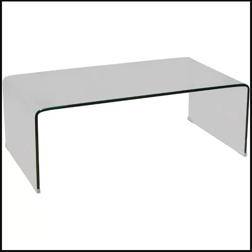 GLASS TABLE BRAND NEW CLEAR COFFEE TABLE