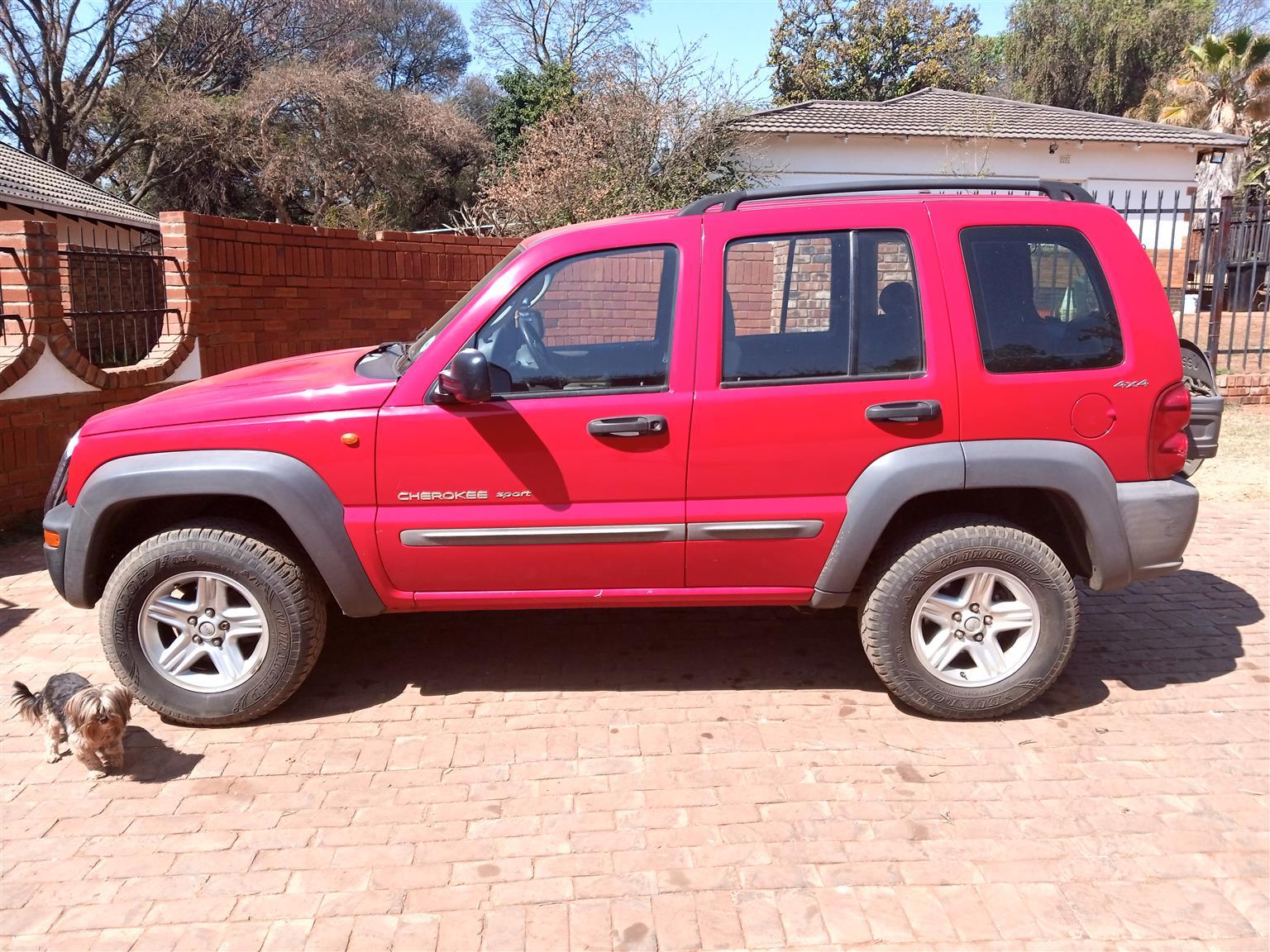 2002 Jeep Cherokee 3.7L Sport