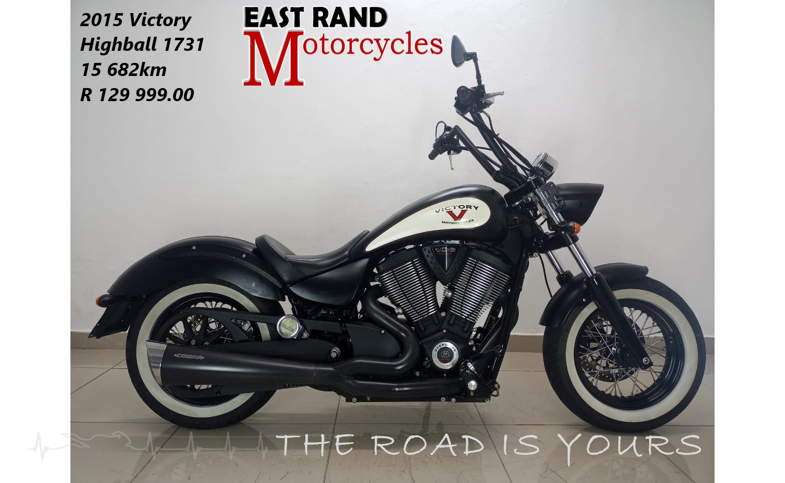 2015 Victory Highball (finance available)