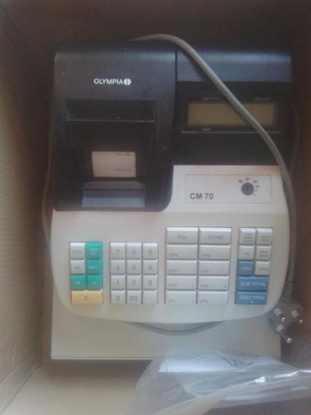 Olympia Cm 70 Cash Register for Sale
