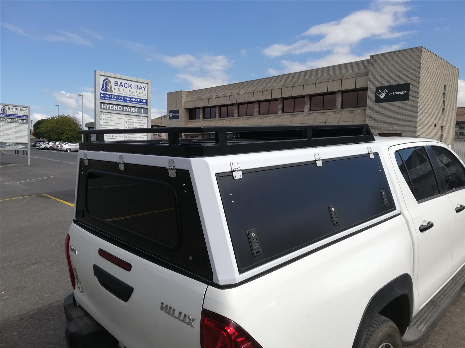 Aluminium Canopies / Kappie en Dak Rakke