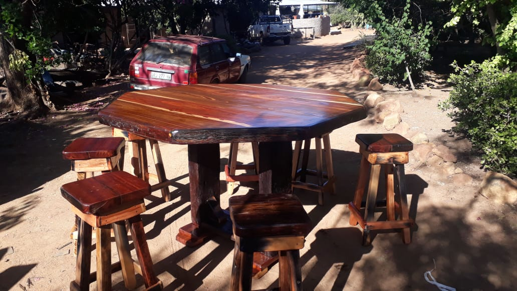 8 Seater wooden table