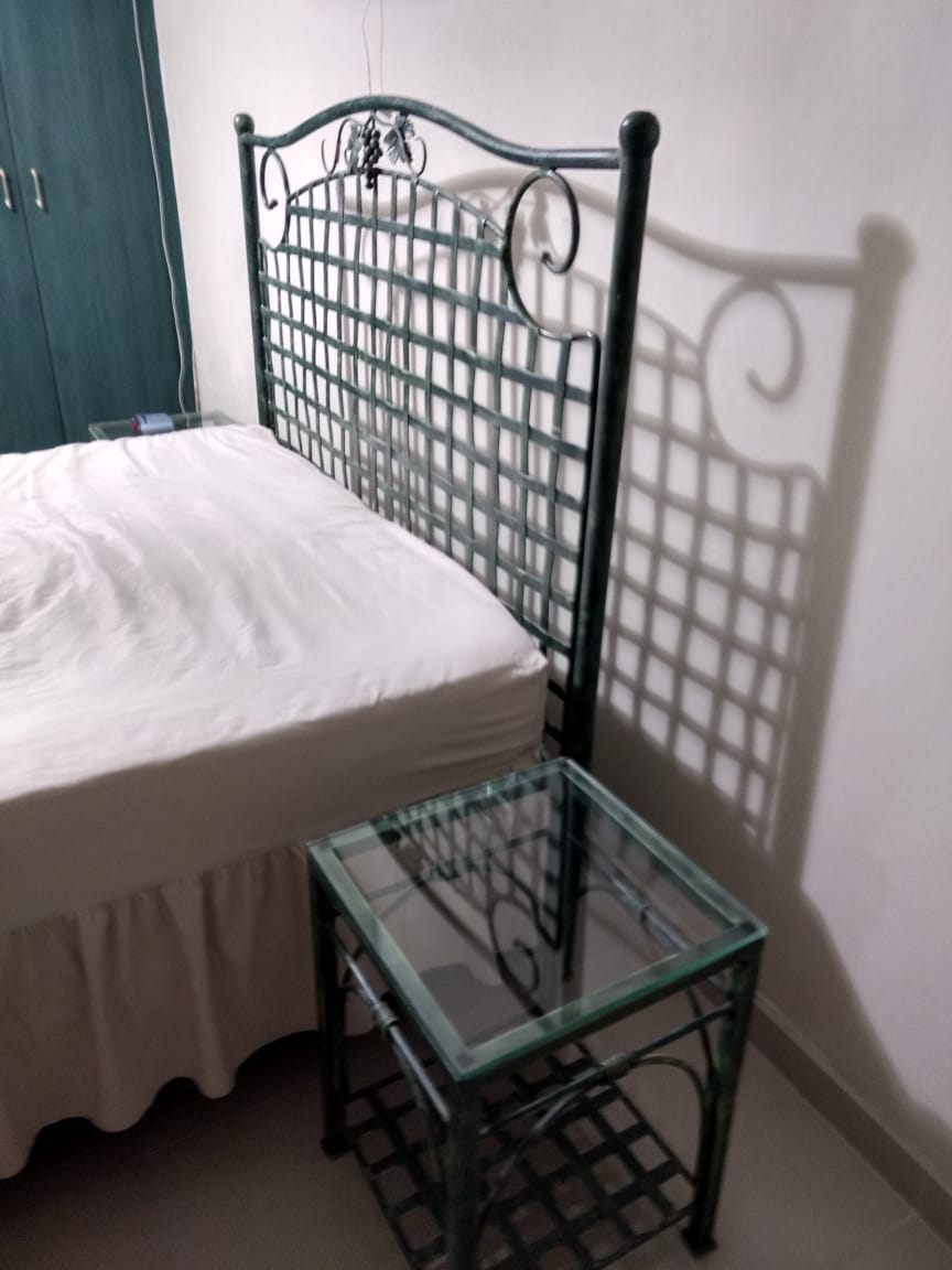 3 piece wrought iron, bedroom furniture at a ridiculous price