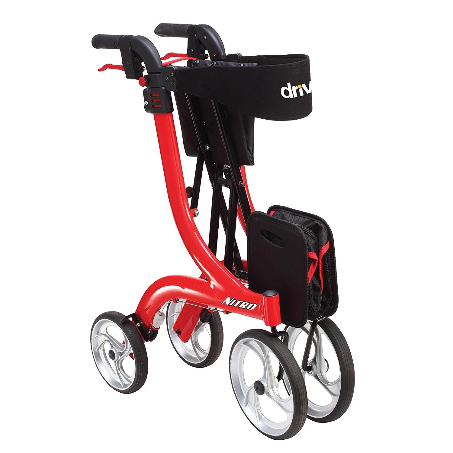 Nitro Rollator by Drive Medical. The Best in Style, Comfort and Convenience. FREE DELIVERY
