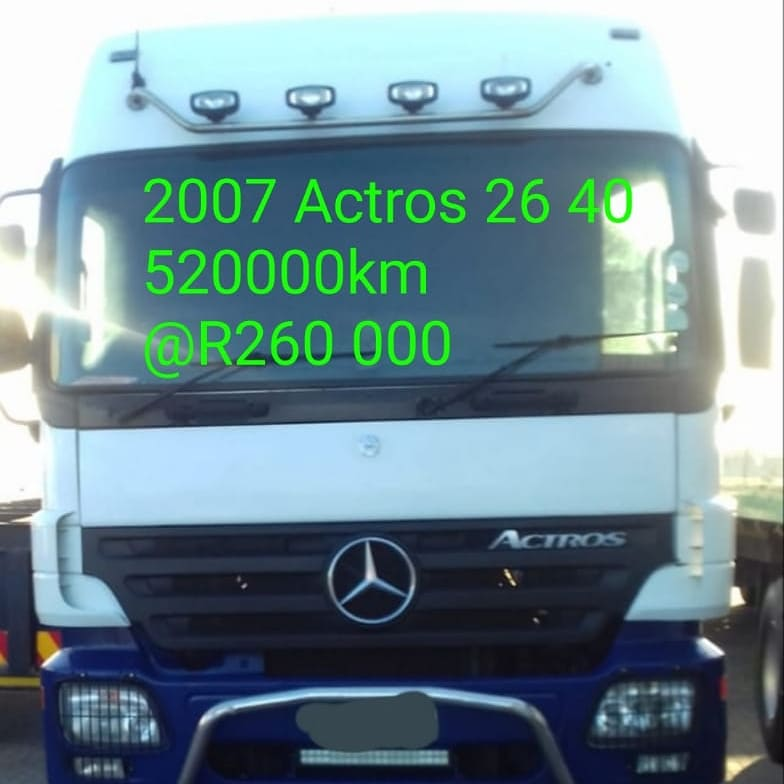 2007 Actros 26 40