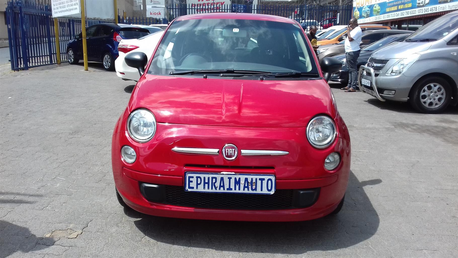 2016 Fiat 500 C 1.2 Pop