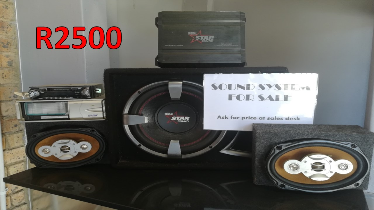 R2500 for *SOUND SYSTEM* - DIGITAL STAR SOUND + RADIO & CD PLAYER