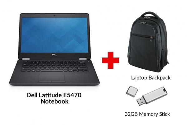 Refurbished DELL LATITUDE E5470 Core i5 Notebook