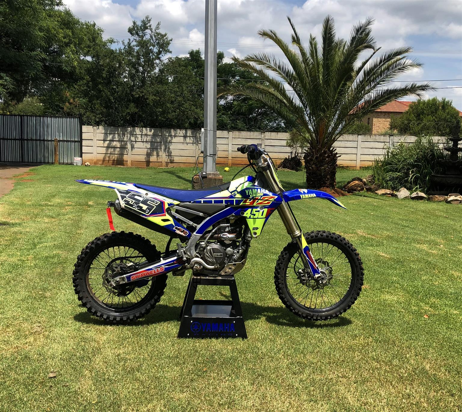 2015 YZ450F fuel injected
