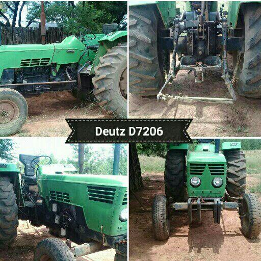 Deutz D7206 trekker