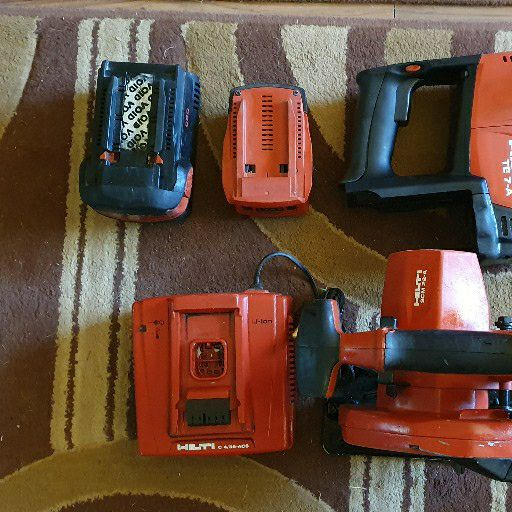 Hilti cordless power tool combo