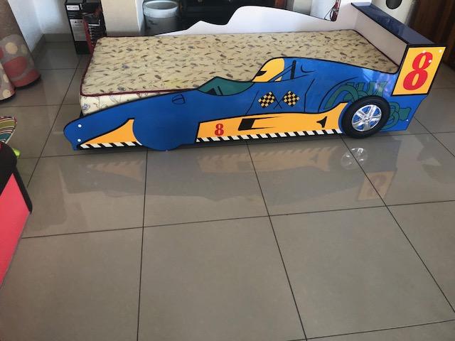 Boys Car Bed Mattress Junk Mail
