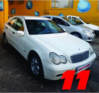 2002 Mercedes Benz 180C